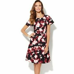 Eva Mendes New York & Co Floral Riviera Dress